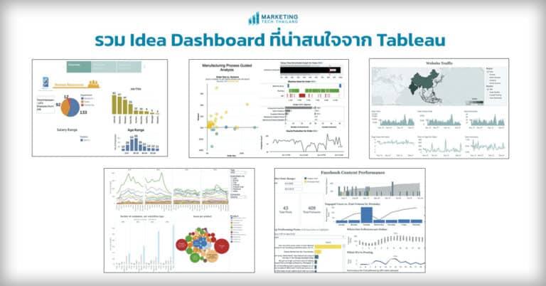Data visualize – แนะนำ Tableau Dashboard ที่น่าสนใจ
