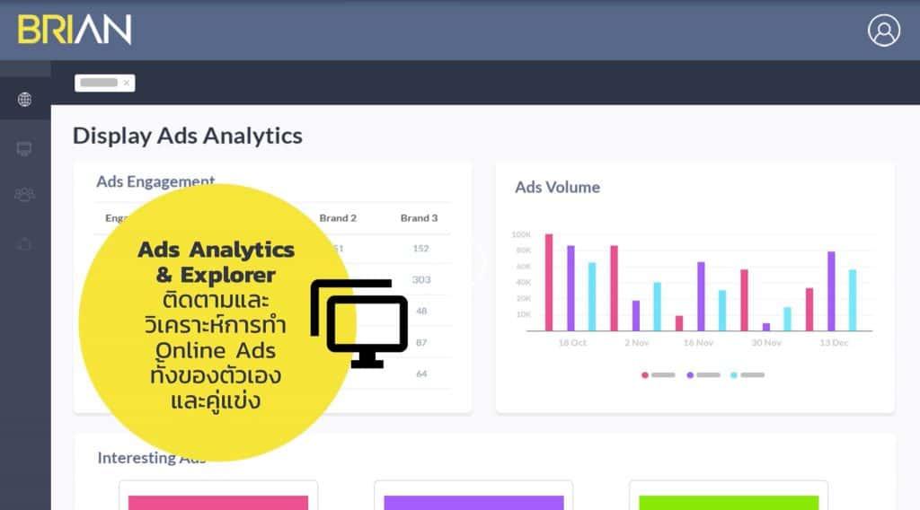 """แนะนำ Marketing Analytics Platform """"Brian"""""""
