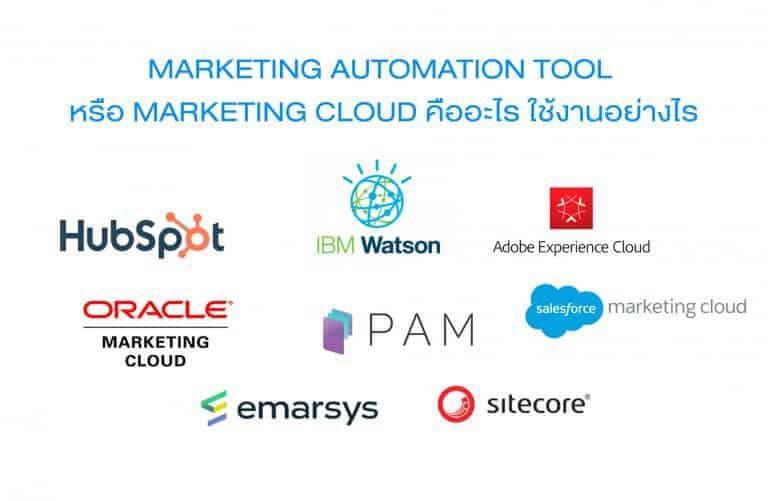 Marketing automation  คืออะไร มีฟีเจอร์อะไรบ้าง