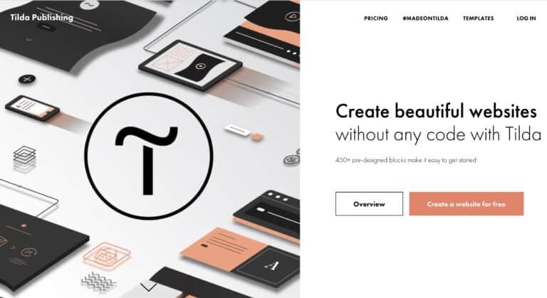 สร้าง Landing Page, Website แบบฟรีๆ ด้วย Tilda.cc