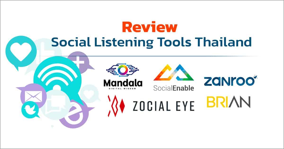 Social Listening Tools Thailand