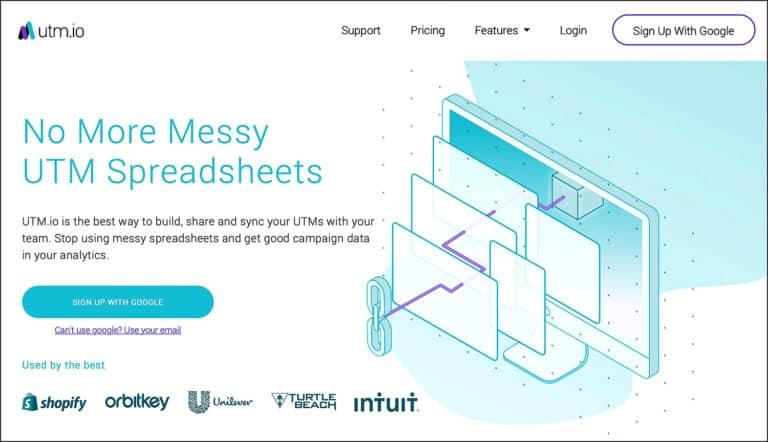 สร้าง UTM แบบง่ายและฟรีด้วย utm.io