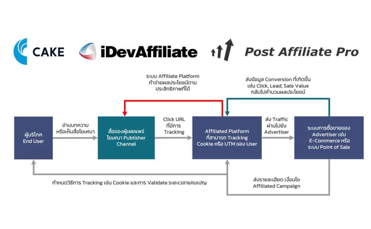 affiliated marketing platform feature