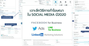 Social Media Advertising ระบบการทำโฆษณาของ Social Media ต่างๆ