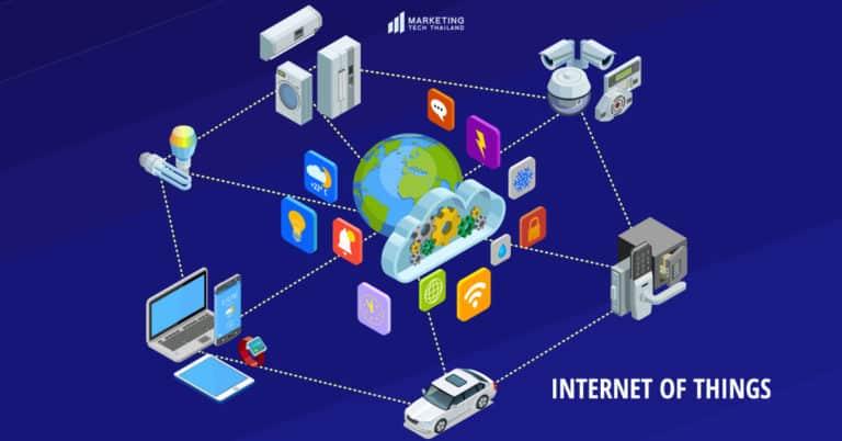 การใช้  IoT หรือ Internet of Things สำหรับ Marketing