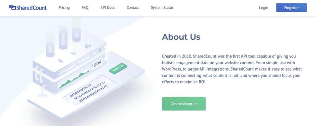 SharedCount นับจำนวนแชร์