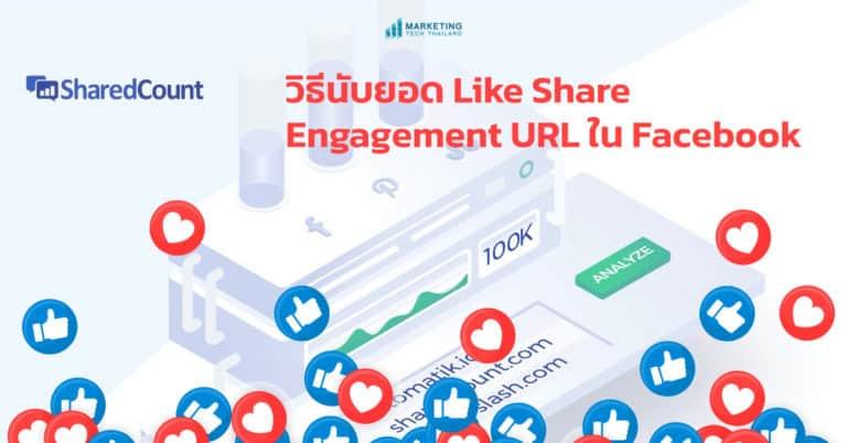 วิธีนับยอด Like Share และ Engagement ของ URL ใน Facebook