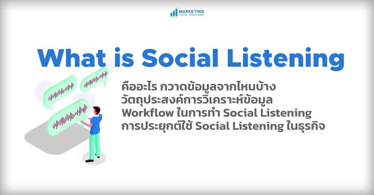 social-listening คืออะไร