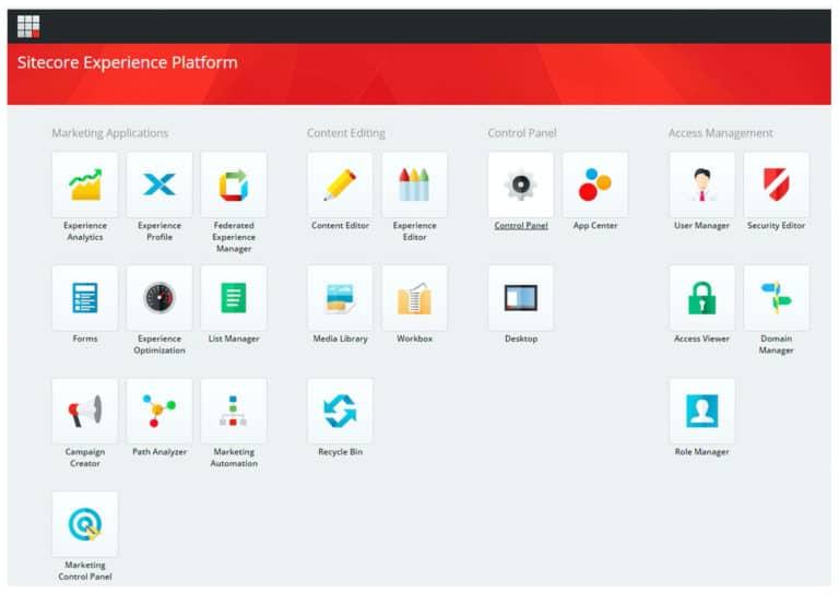 Sitecore คือเครื่องมือ MarTech ด้าน DXP –  Digital Experience Platforms