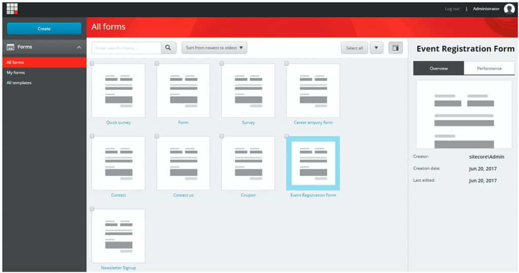 sitecore-form-create