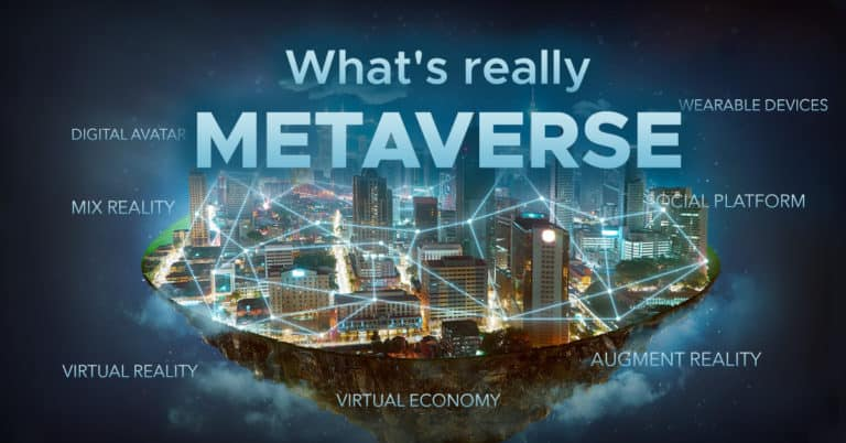 Metaverse ที่แท้จริงคืออะไร ถ้าจะสร้างโลกเสมือน ต้องใช้ Technology อะไรบ้าง